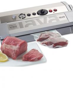 Vacuumapparaten en vleesverwerking